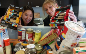 SPINS Inspire healthy food drive.