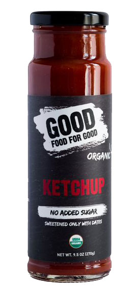 Good Food for Good ketchup