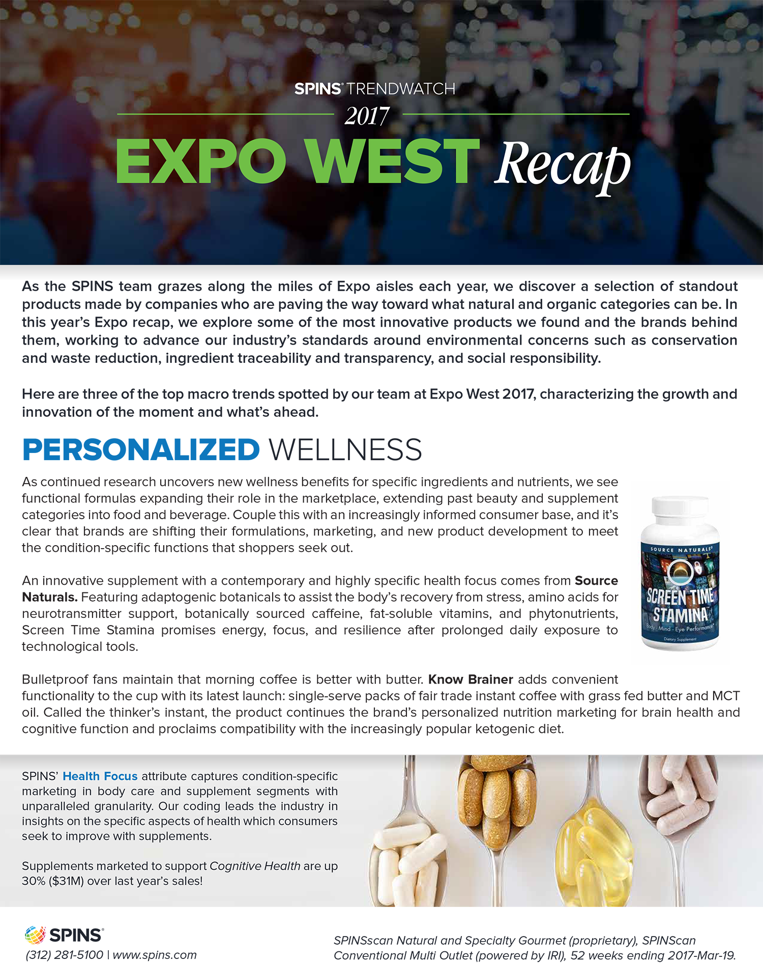 SPINS Trend watch 2017 Expo West Recap