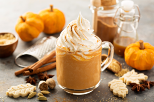 image of pumpkin spice latte
