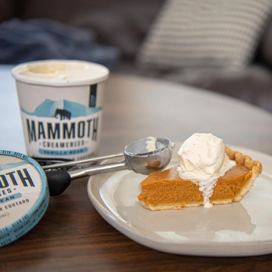 Mamoth creameries keto-approved ice cream