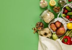 photo of groceries for the the future of natural products article by SPINS