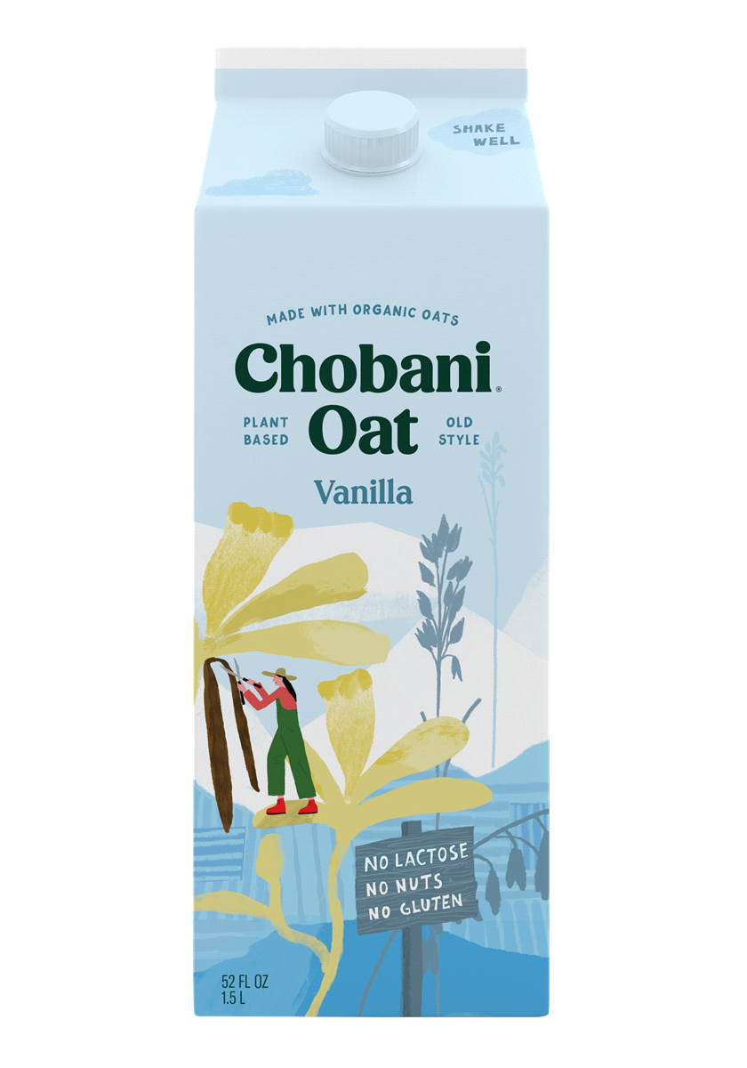 product image of chobani oat milk that's contributing to growing beverage trends